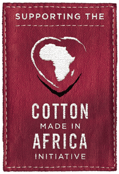 Logo Supporting Cotton Made in Africa